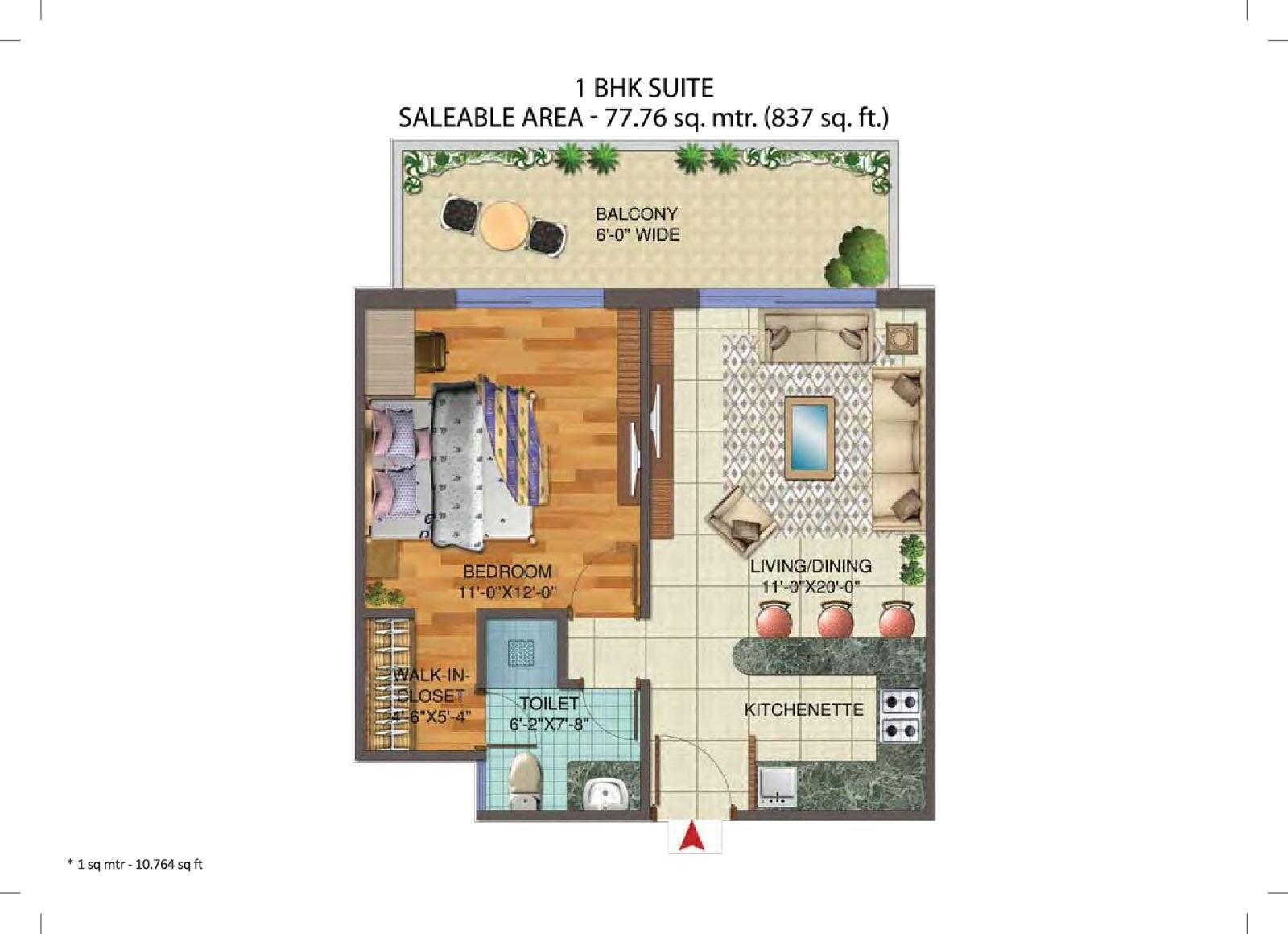 Central Park 3 The Room Studio Apartments Sector 33 Gurgaon